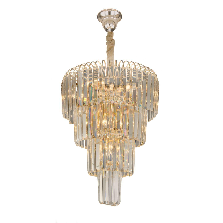 Lustre De Cristal Para Sala De Jantar 5681l Versailles Casacenter