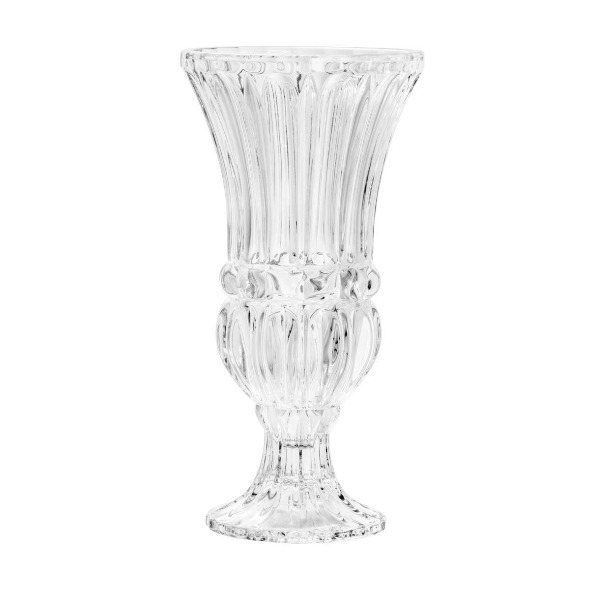 Vaso de Cristal com Pé - Wolff Athena Médio 30cm