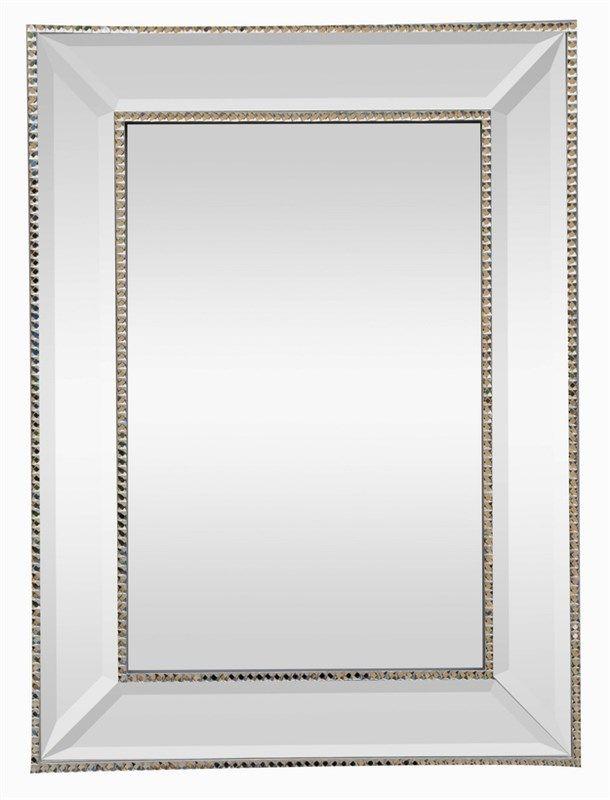 Espelho Poliresina - Prata 81cm