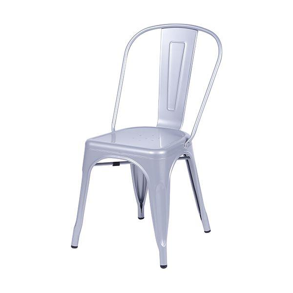 Cadeira Estilo Industrial Iron Tolix - Cinza