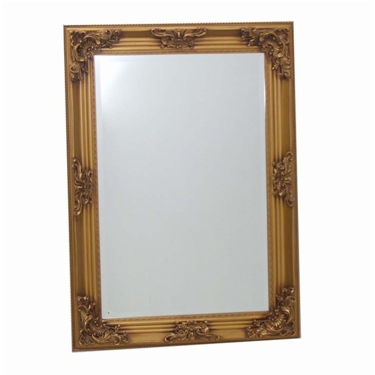 Espelho de Vidro com Moldura Trabalhada 106x77cm