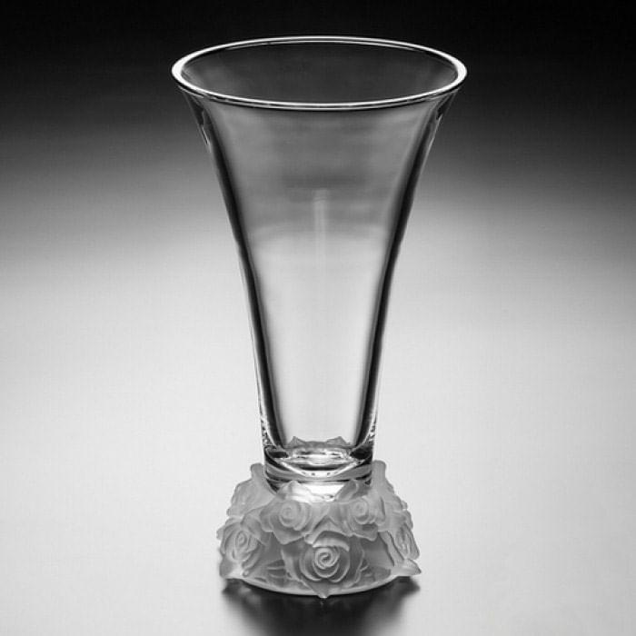Vaso de Cristal - Bohemia Rose 36cm