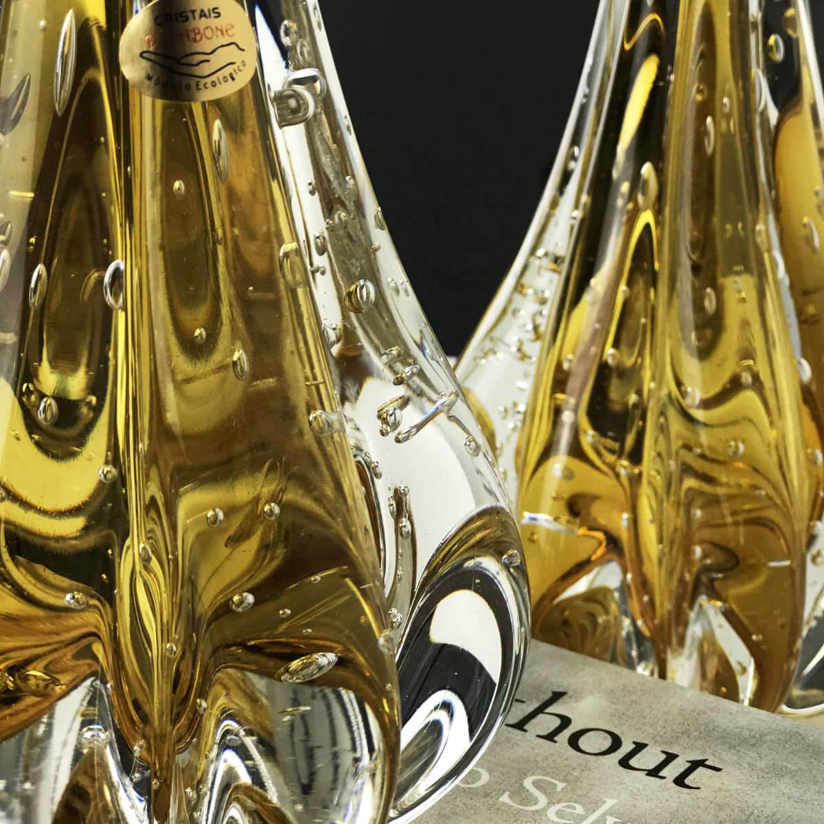 Gota de Murano D'Labone - Cristal Âmbar 40cm