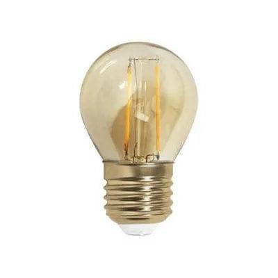 Lâmpada LED Filamento Bolinha G45 - Retrô para Pendentes (13 unidades)