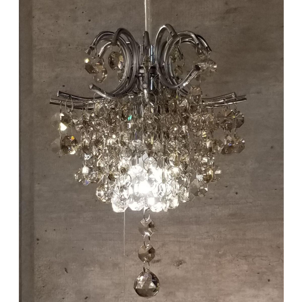 Pendente de Cristal - Bella Fiore Âmbar 18cm