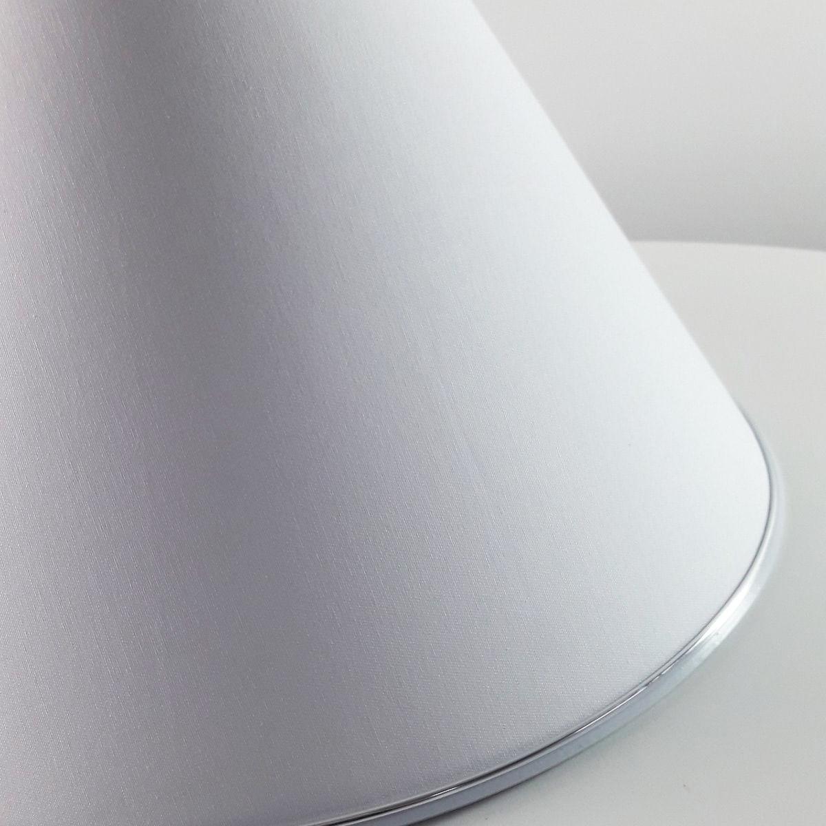 Cúpula de Tecido com Friso Inferior - Branca (sem base)