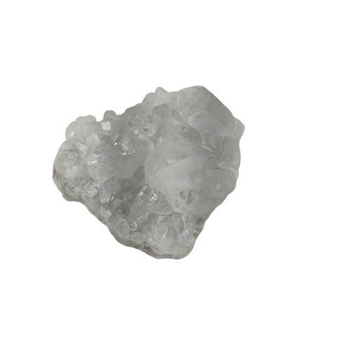 Drusa de Cristal Natural Rústica - Pequena
