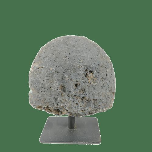 Geodo de Ágata Natural com Base
