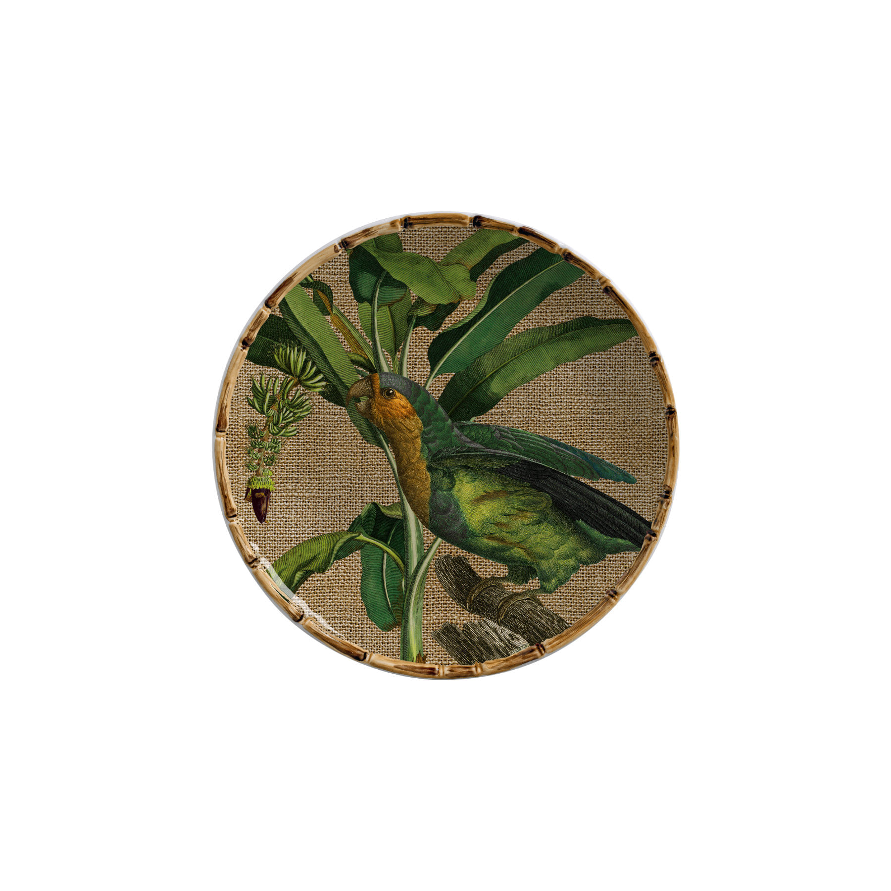 Jogo de Pratos de Sobremesa - Aves do Brasil (6 peças)