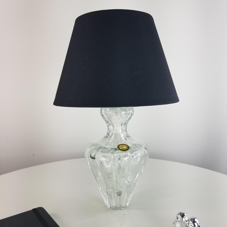 Abajur de Murano Pequeno Cristais Labone - Cristal Transparente
