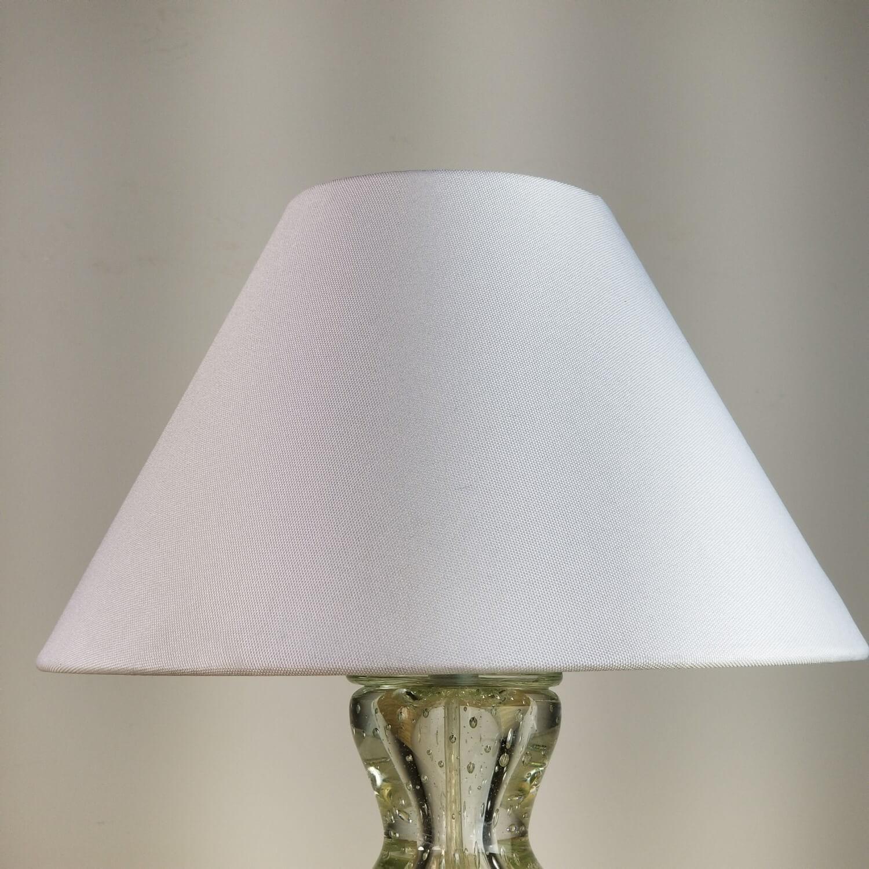 Cúpula Cônica de Tecido 25x16cm - Branca