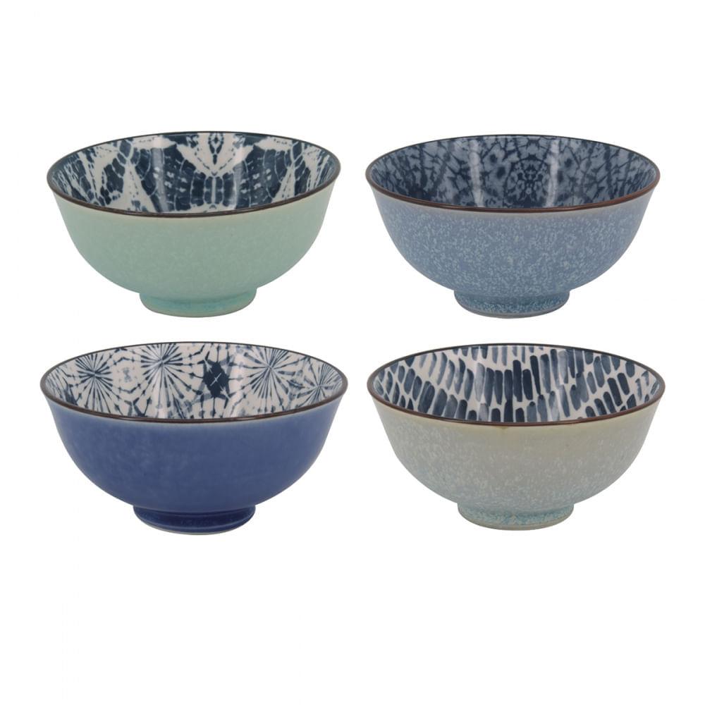 Conjunto De Bowls Com Estampas Sortidas - Cosmic (4 Peças)