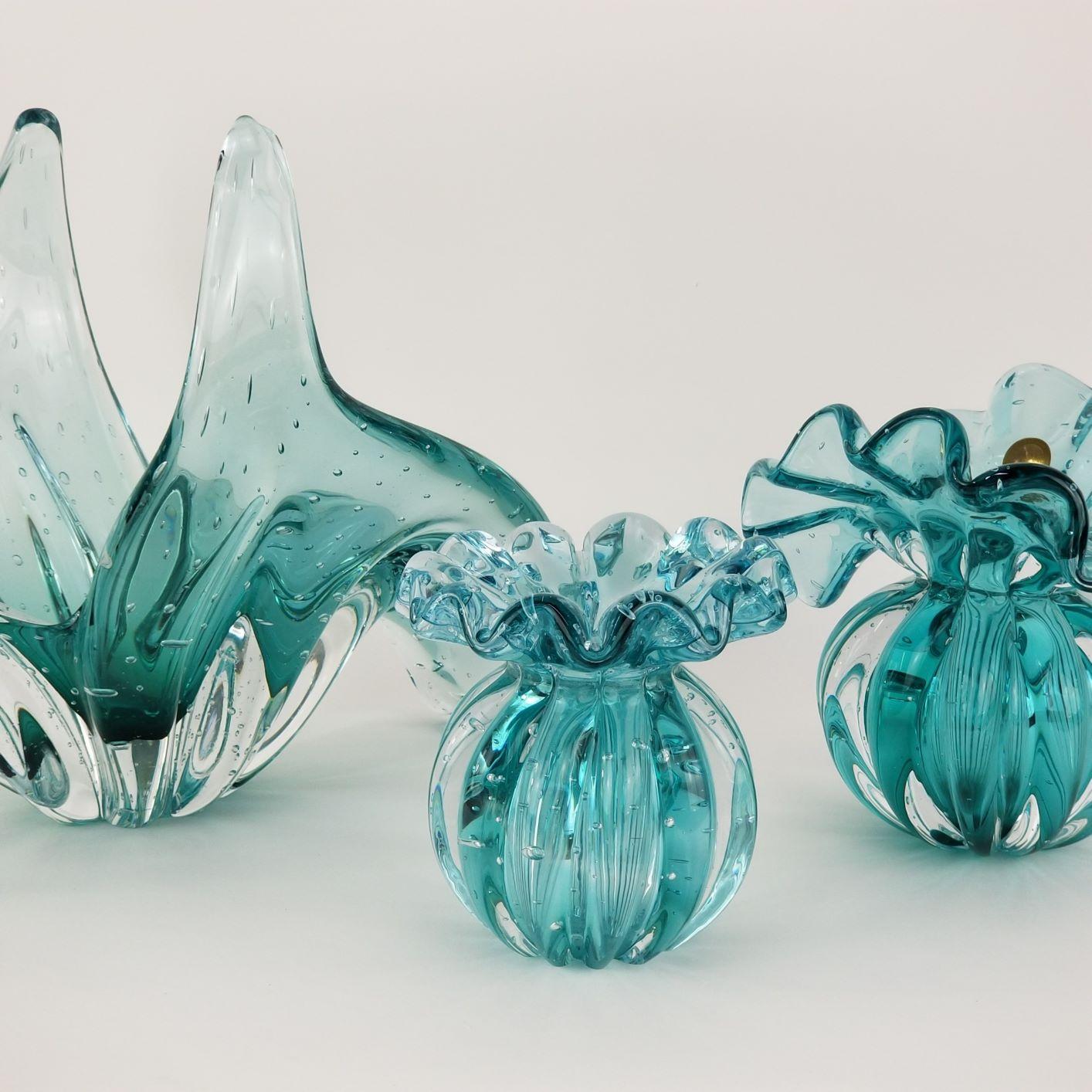 Mini Vaso de Murano Trouxinha D'Labone - Cristal Esmeralda